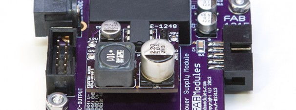 48Volt DC Converter plugin to our FAB1215 Module