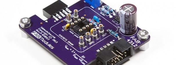 FAB4312 – Non-Inverting Amplifier Module (Discrete OpAmp, PDIP OpAmp)
