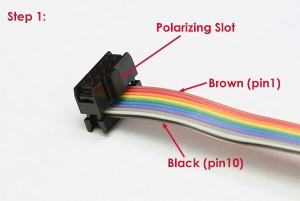 How To Make Your Own Cable 10pin Female To Female Ribbon