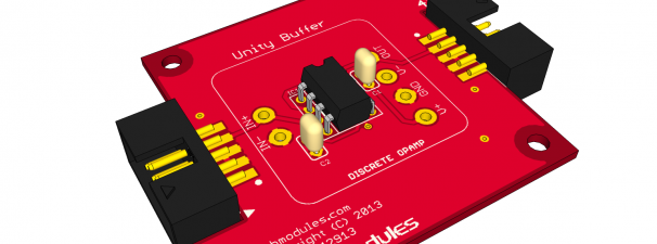 FAB4300 – Unity BufferAmplifier Module